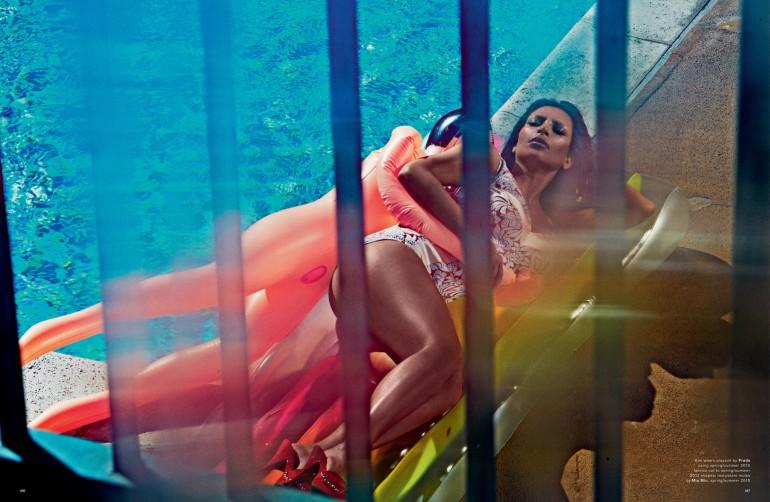 kim kardashian by steven klein love magazine 3