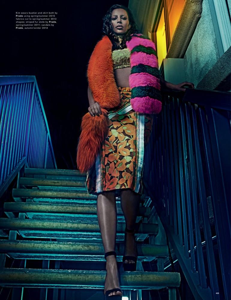 kim kardashian by steven klein love magazine 7