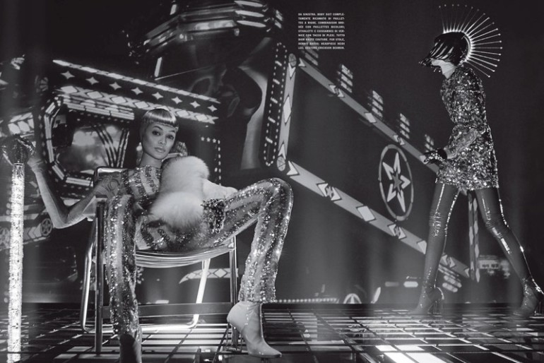 Joan Smalls by Steven Klein for Vogue Italia 15