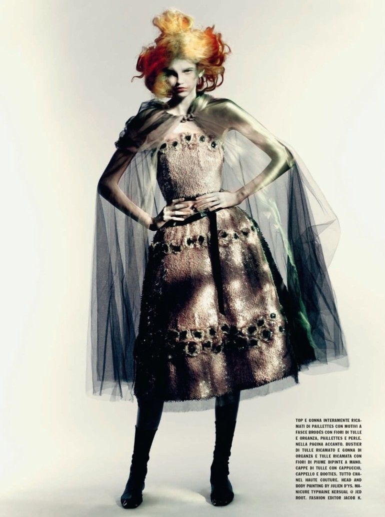 Molly Blair 'Full Bloom' Paolo Roversi for Vogue Italia 10