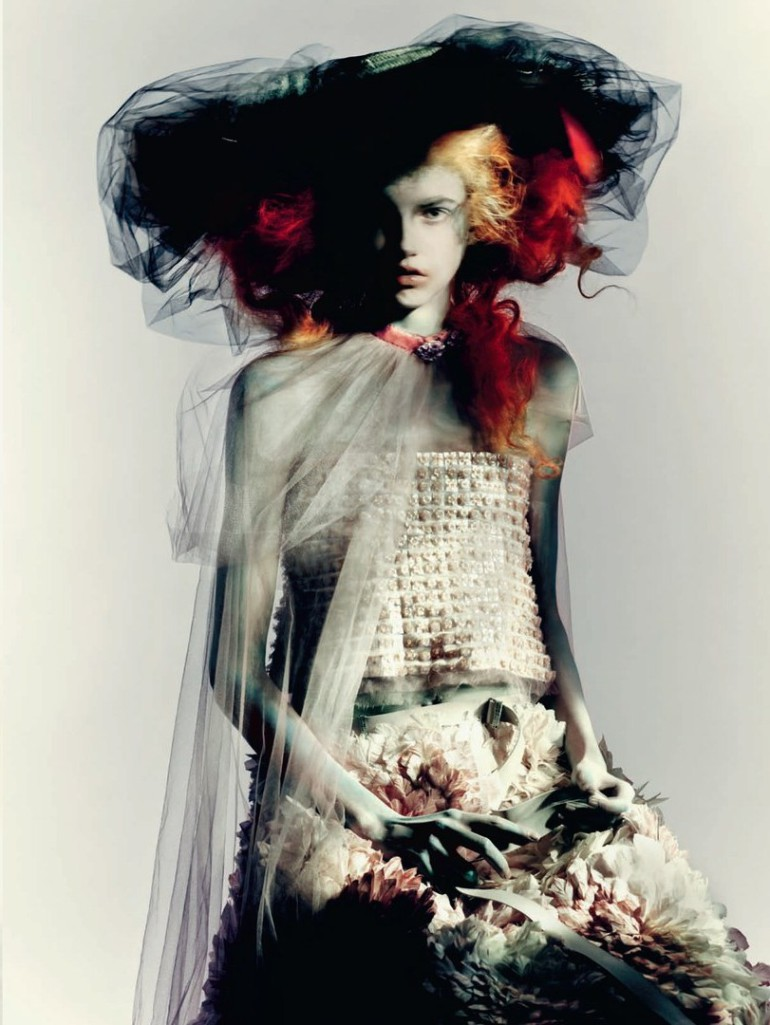 Molly Blair 'Full Bloom' Paolo Roversi for Vogue Italia 12
