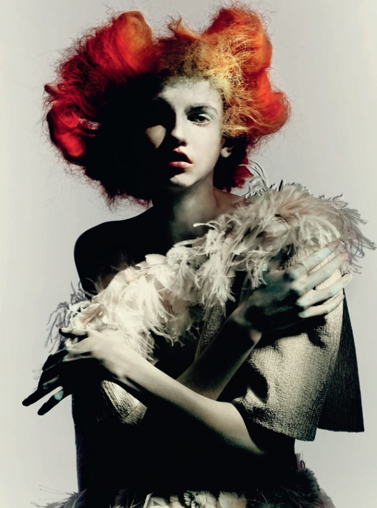 Molly Blair 'Full Bloom' Paolo Roversi for Vogue Italia