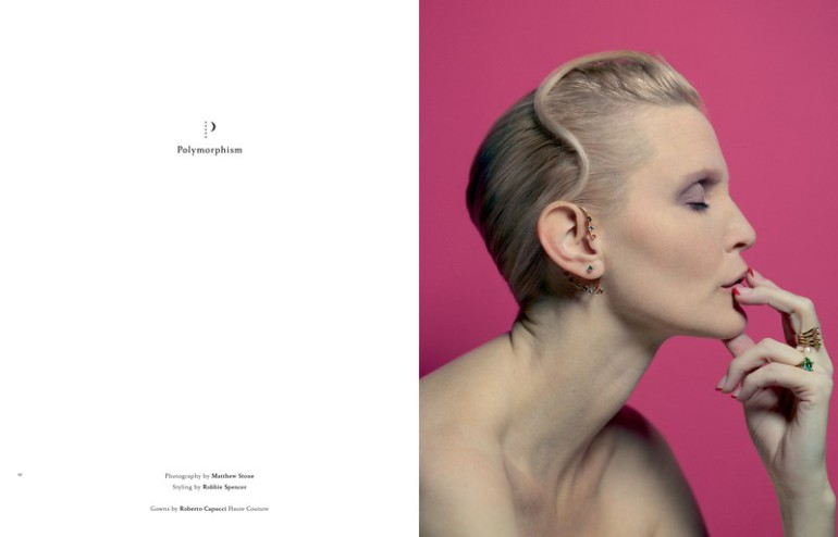 Nadja Auermann for A Magazine