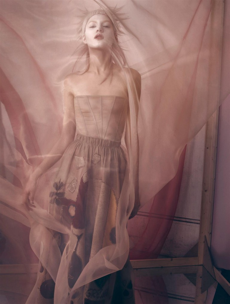Valery Kaufman 'An Enchanting Vision' by Solve Sundsbo for Vogue Italia 10