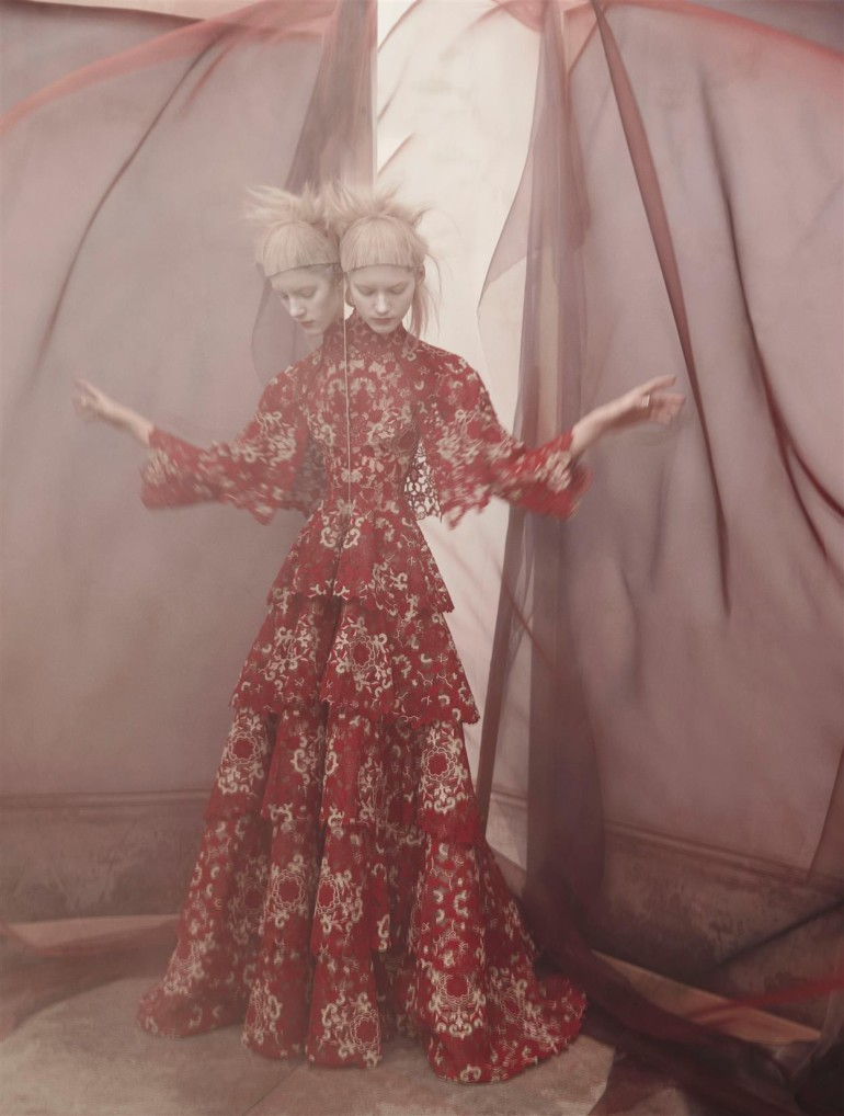 Valery Kaufman 'An Enchanting Vision' by Solve Sundsbo for Vogue Italia 3