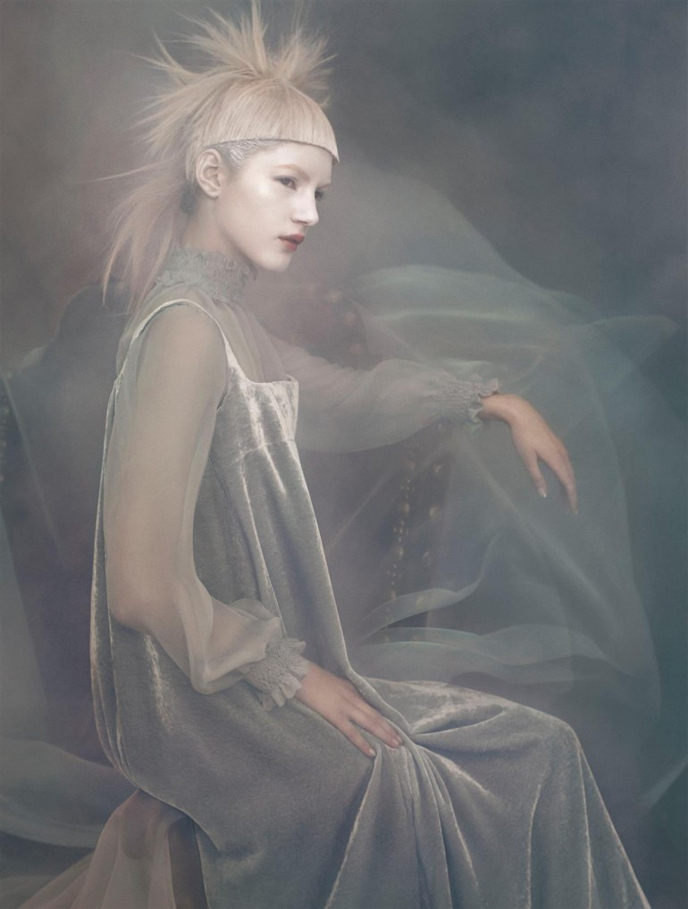 Valery Kaufman 'An Enchanting Vision' by Solve Sundsbo for Vogue Italia