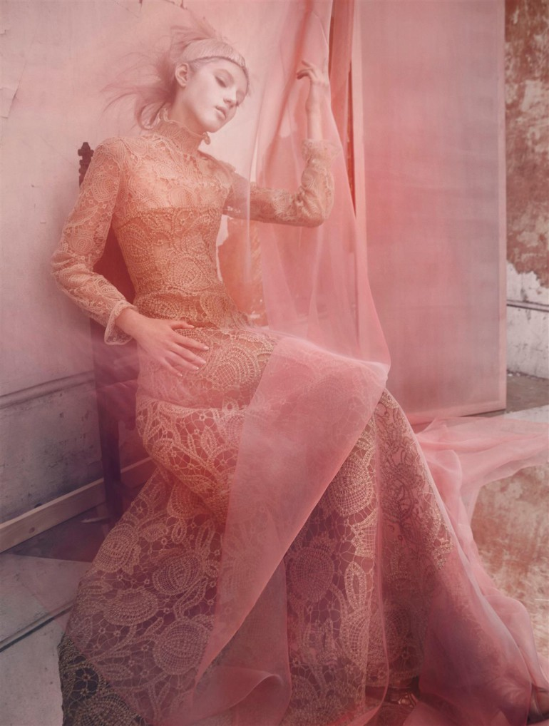 Valery Kaufman 'An Enchanting Vision' by Solve Sundsbo for Vogue Italia 8
