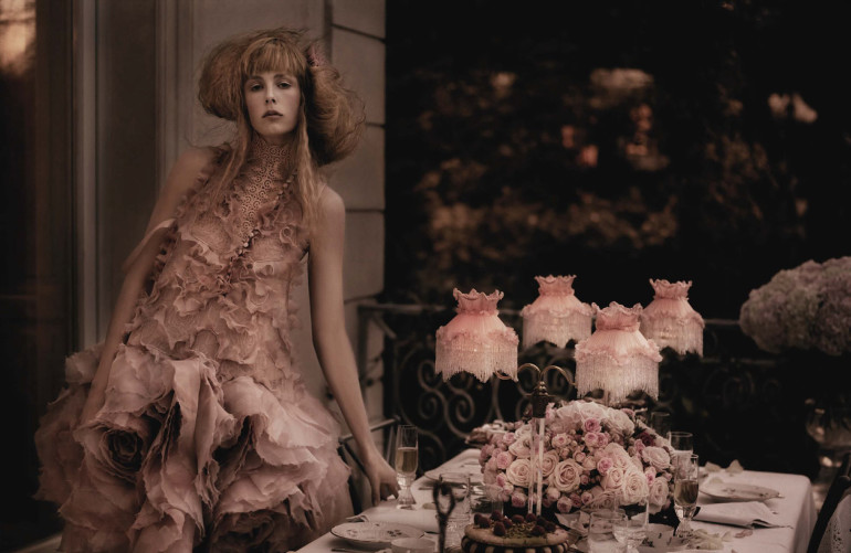 Edie Campbell & Olympia Campbell by Karl Lagerfeld for Vogue Germany 5