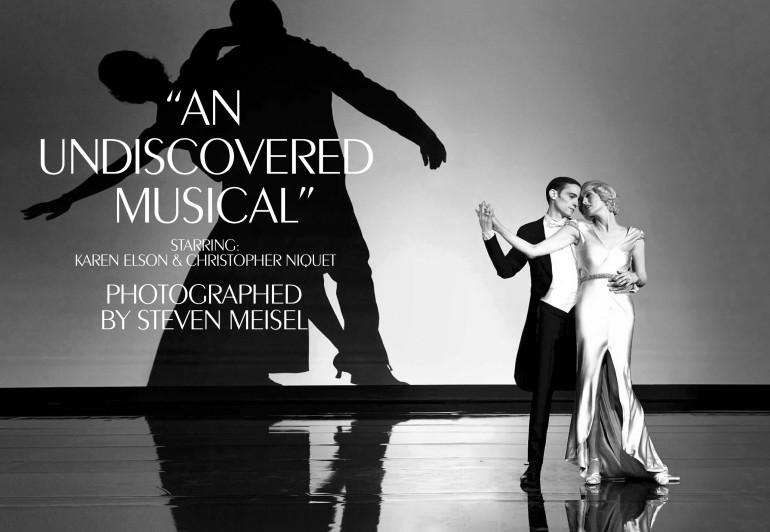 Karen Elson 'An Undiscovered Musical' Steven Meisel, Vogue Italia 39