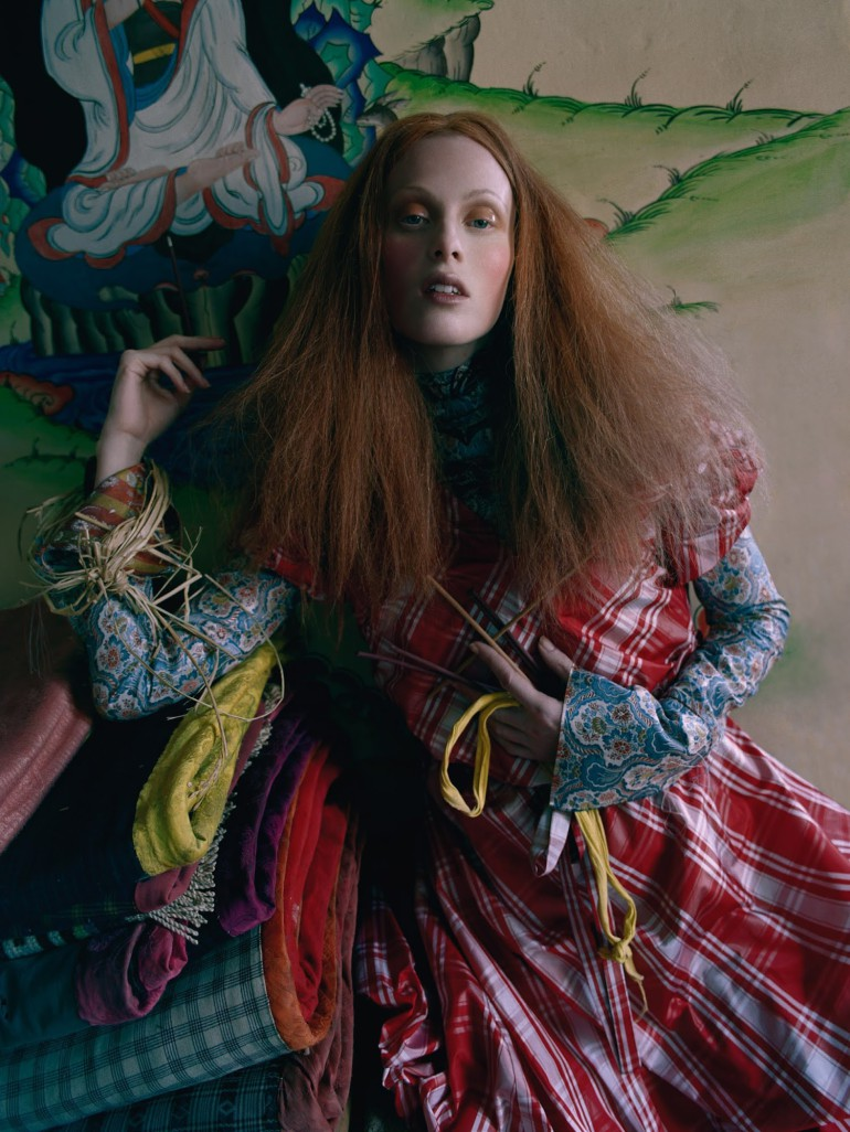 Karen Elson by Tim Walker for Vogue UK 35