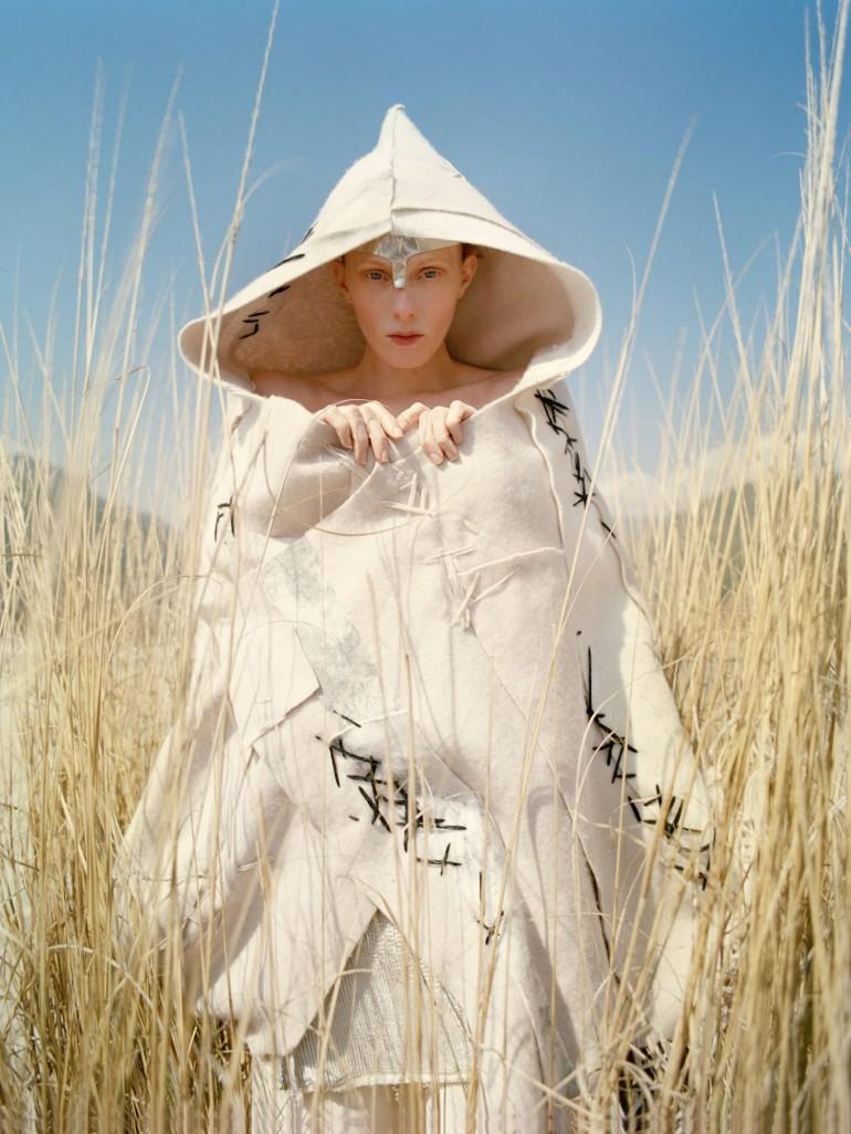 Karen Elson by Tim Walker for Vogue UK 50