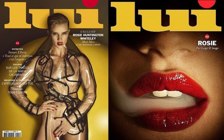 Rosie Huntington Whiteley for Lui Magazine
