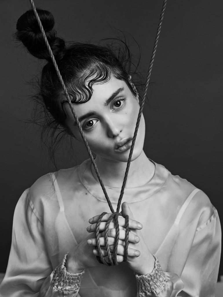 Aliya Galyautdinova in 'Purity' by Nicolas Guerin For Schön! 8