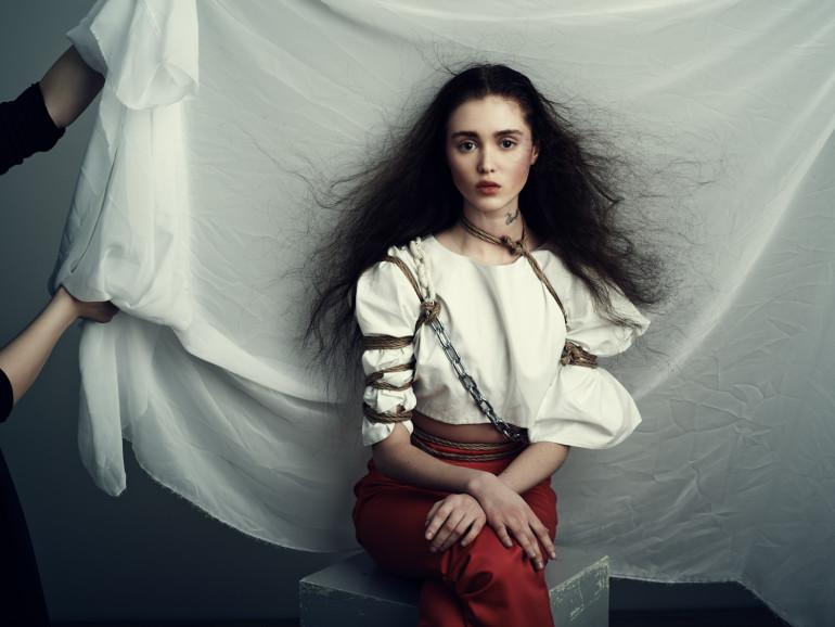 Aliya Galyautdinova in 'Purity' by Nicolas Guerin For Schön!11