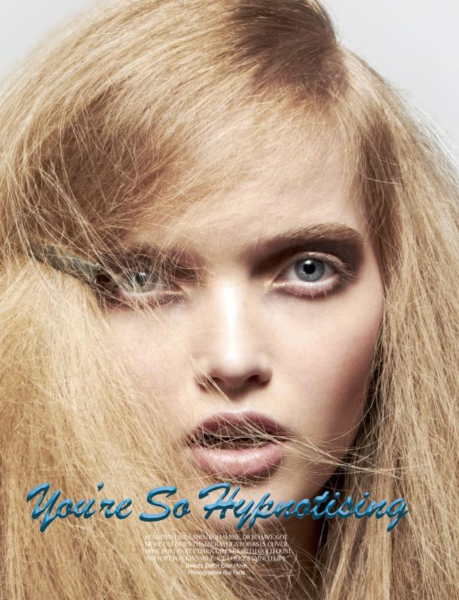 Julija Step 'You're So Hypnotizing' Rui Faria for Wonderland