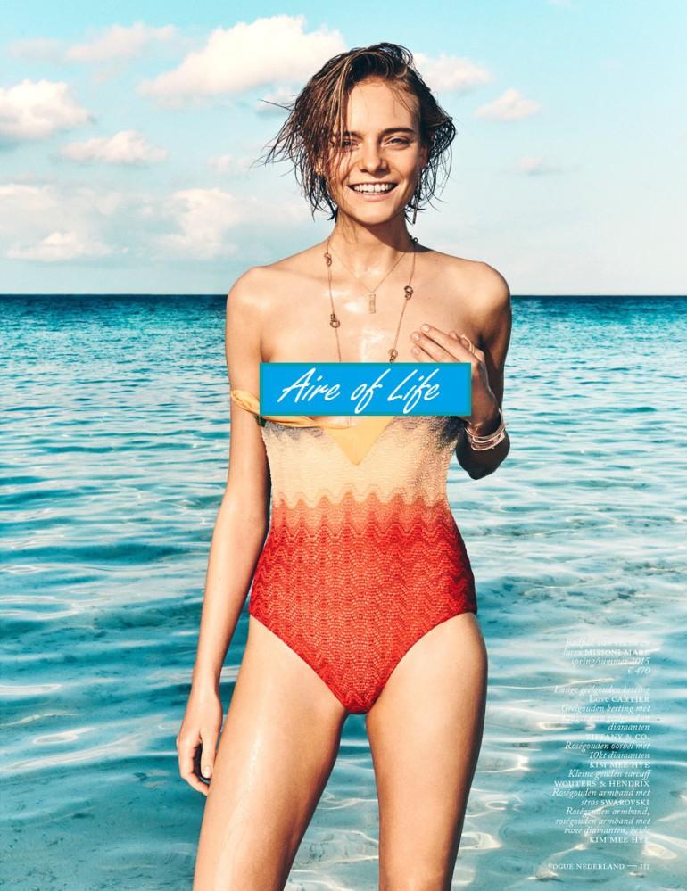 Nimue Smit By Marc De Groot For Vogue Netherlands 2