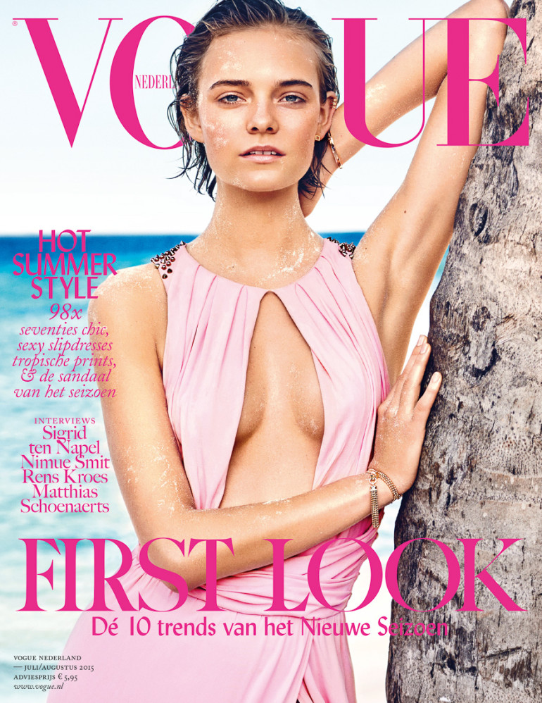 Nimue Smit By Marc De Groot For Vogue Netherlands Cover