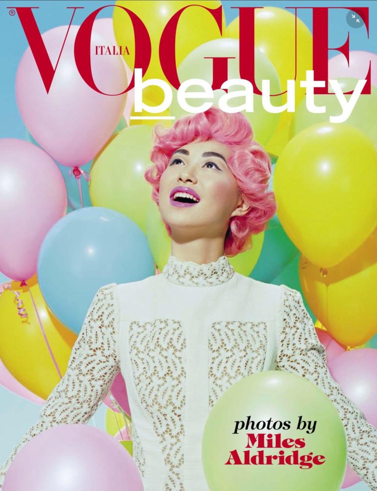miles aldridge vogue italia june 2015 Cover