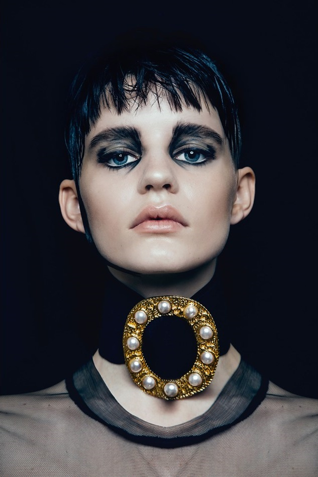 Hannah Elyse 'Stark' by Bonnie Hansen for Black Magazine 15
