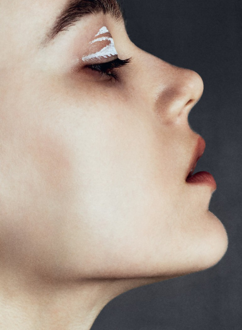 Jenna Earle 'White' David Oldham For Beauty Papers 10