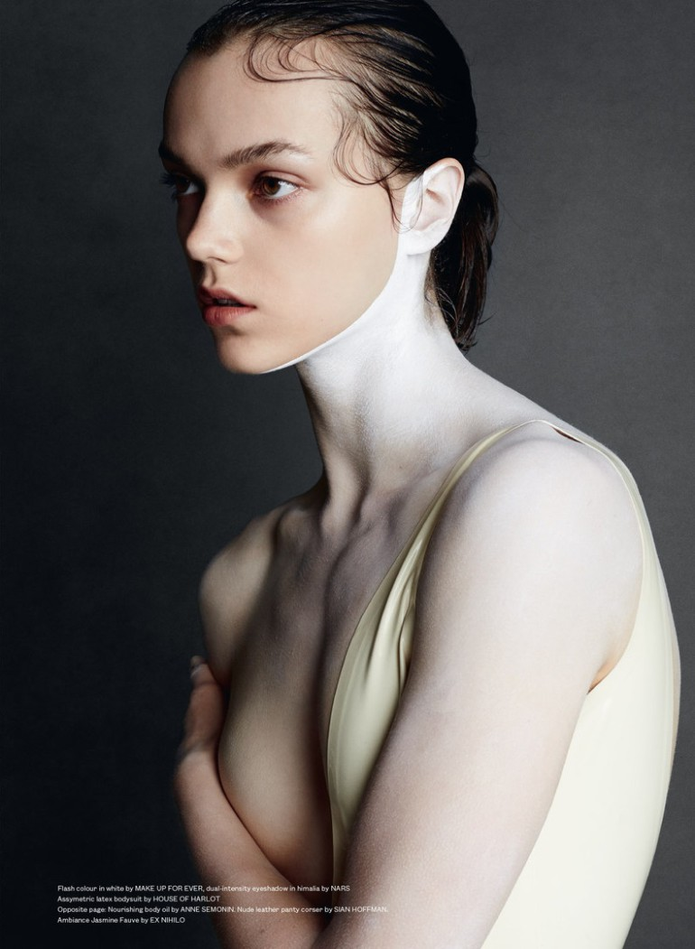 Jenna Earle 'White' David Oldham For Beauty Papers 6