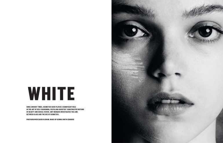 Jenna Earle 'White' David Oldham For Beauty Papers