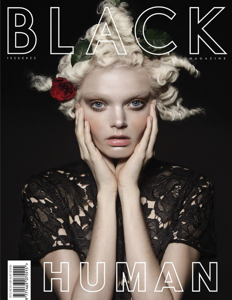 Marthe Wiggers By Thom Kerr For Black Magazine #23 Cover