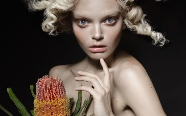 Marthe Wiggers 'The Flower' by Thom Kerr for Black Magazine 3