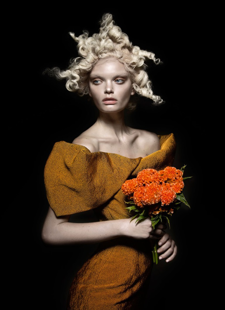 Marthe Wiggers 'The Flower' by Thom Kerr for Black Magazine 5