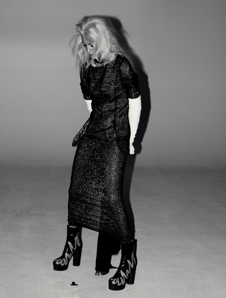 Poppy Delevingne by Willy Vanderperre for Love No.14 FW 2015 13