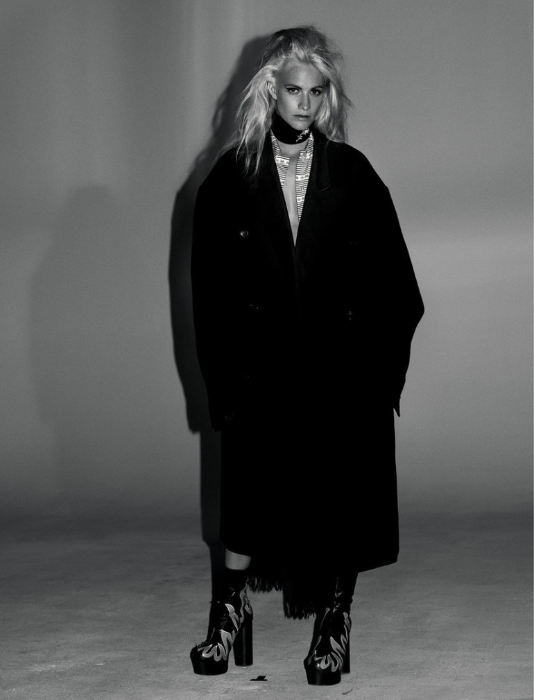 Poppy Delevingne by Willy Vanderperre for Love No.14 FW 2015 16