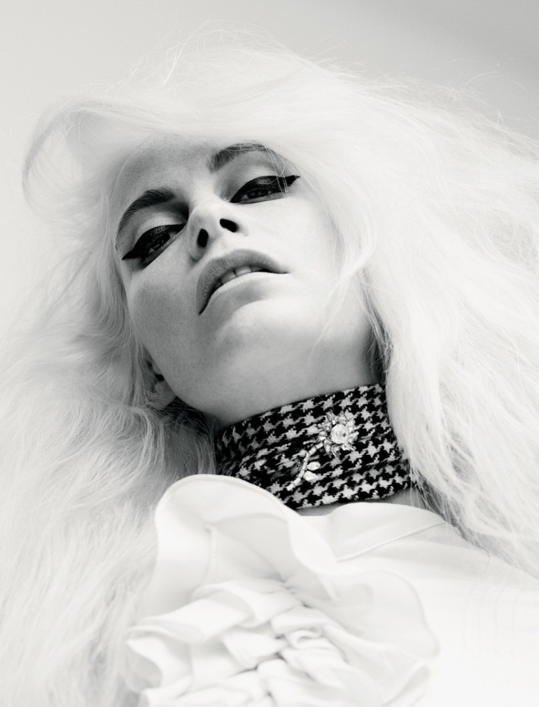 Poppy Delevingne by Willy Vanderperre for Love No.14 FW 2015 3
