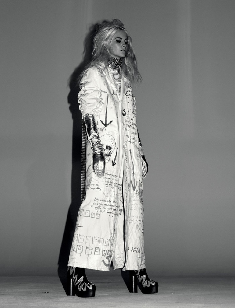 Poppy Delevingne by Willy Vanderperre for Love No.14 FW 2015 6