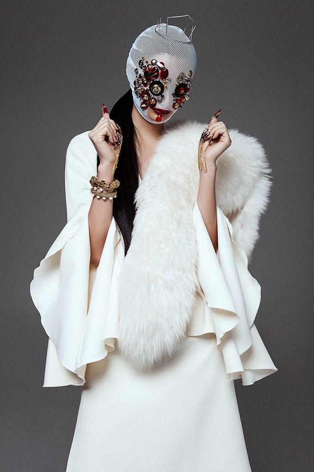 Rowena Xi Kang 'Great White Shark' Tre & Elmaz for Black Mag 24