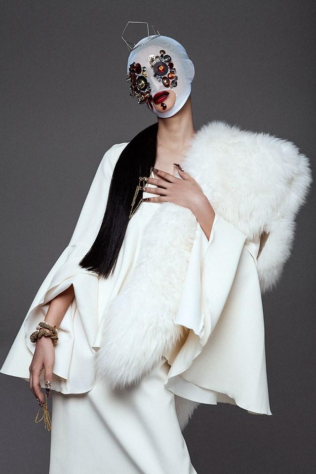 Rowena Xi Kang 'Great White Shark' Tre & Elmaz for Black Mag 27