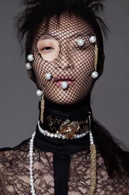 Rowena Xi Kang 'Great White Shark' Tre & Elmaz for Black Mag 5