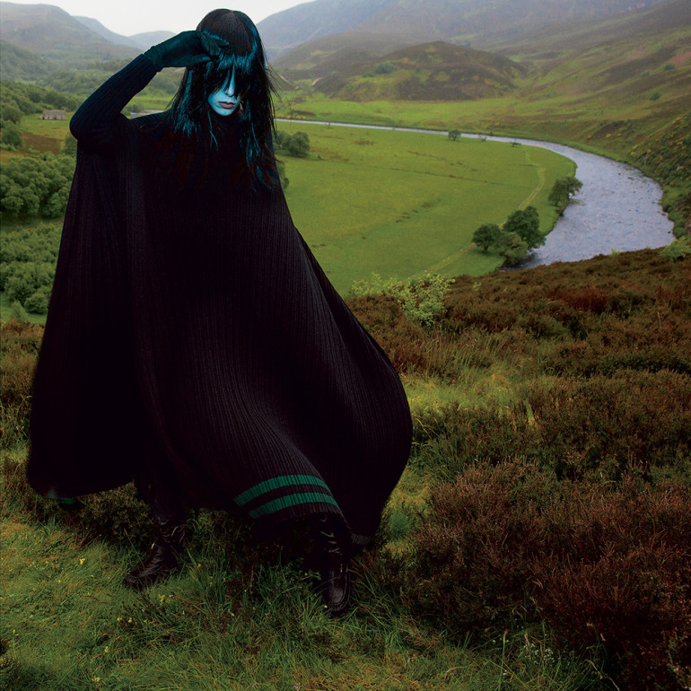 Edie Campbell by Inez & Vinoodh for T Style Women's Fall Fashion 2015 001