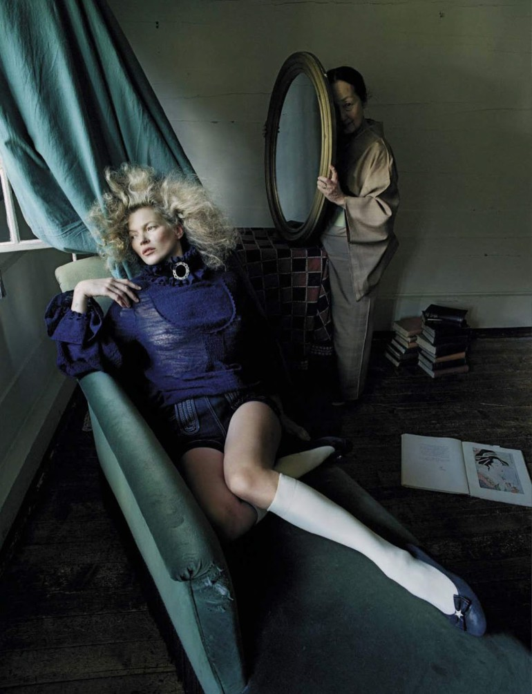 Kate Moss 'Women of Style' By Tim Walker For Vogue Italia September 2015 10