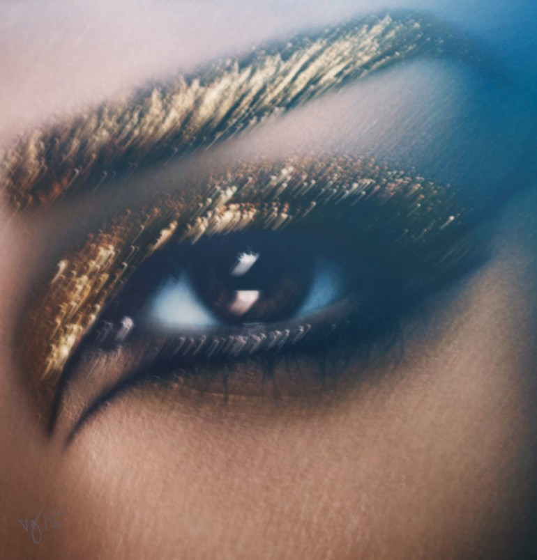 Kim Kardashian West by Ben Hassett for Violet Grey 3