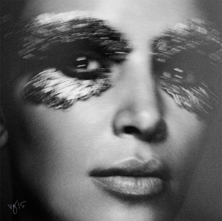 Kim Kardashian West by Ben Hassett for Violet Grey 5