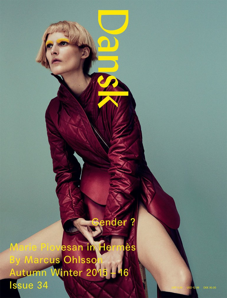 Marie PIovesan by Marcus Ohlsson for Dansk Magazine, Fall 2015 005