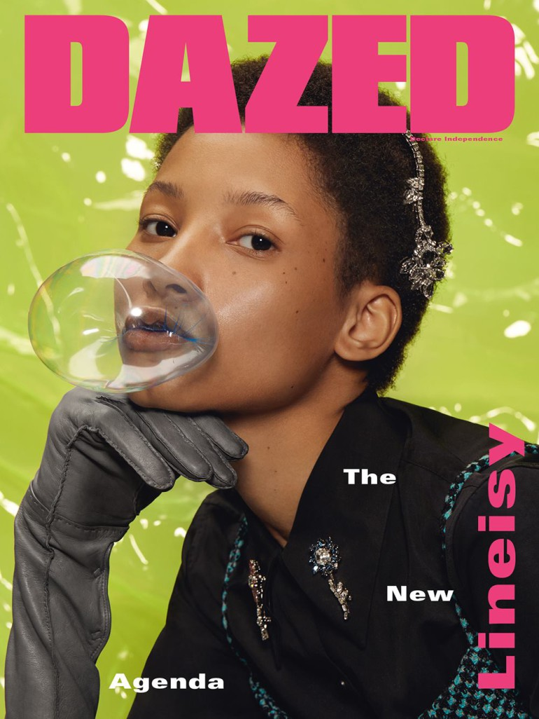Molly Bair & Lineisy Montero cover of Dazed by Roe Ethridge