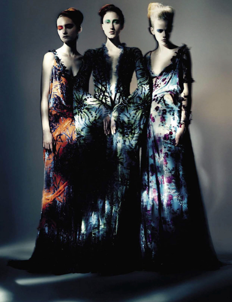 Paolo Roversi 'Haute Couture' Vogue Italia September 2015 15
