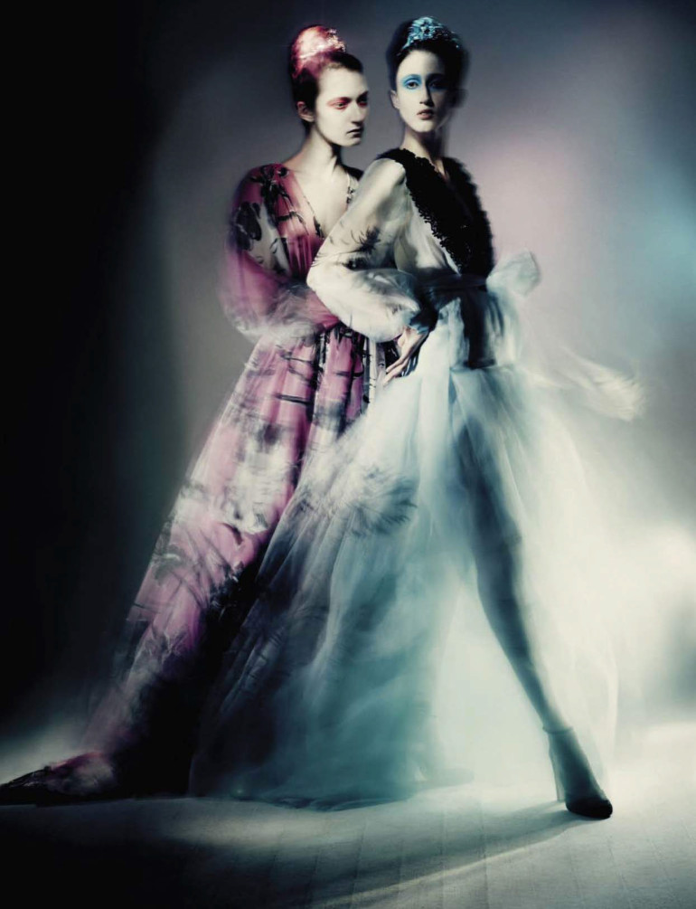 Paolo Roversi 'Haute Couture' Vogue Italia September 2015 4