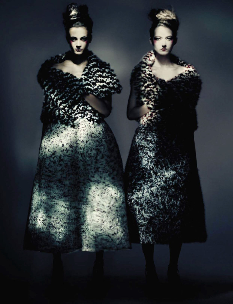 Paolo Roversi 'Haute Couture' Vogue Italia September 2015 6