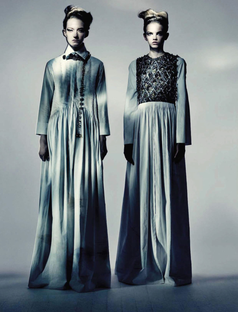 Paolo Roversi 'Haute Couture' Vogue Italia September 2015 7