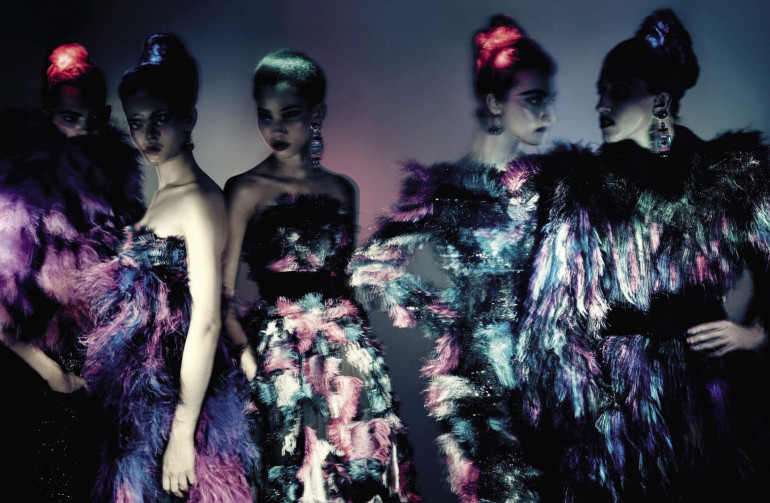 Paolo Roversi 'Haute Couture' Vogue Italia September 2015 8