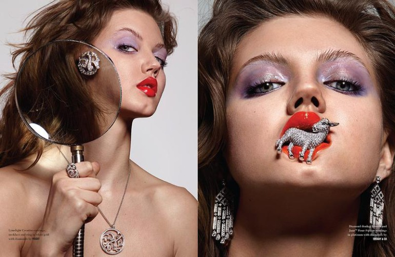lindsey wixon 'square cut & pear cut' by donna trope for 10 magazine 5