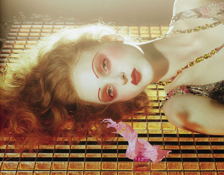 Madison Stubbington by Miles Aldridge for Vogue Italia September 2015 2