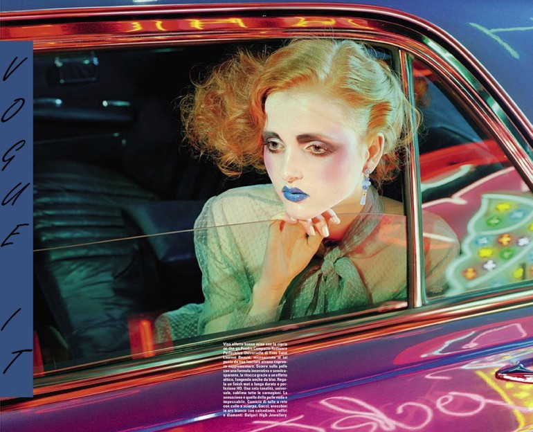 Madison Stubbington by Miles Aldridge for Vogue Italia September 2015 8